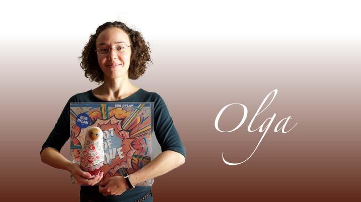 Olga, professeur de Russe et d'Anglais